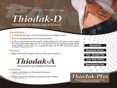 THIODAK PLUS - Zodak Healthcare