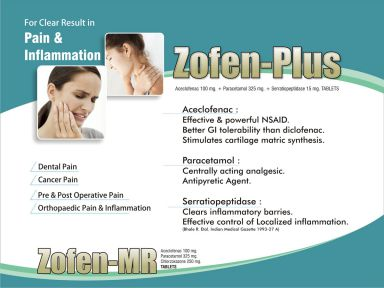 ZOFEN PLUS - Zodak Healthcare