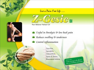 Z - GESIC OIL - Zodak Healthcare